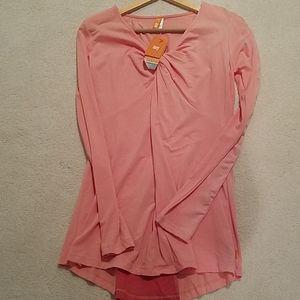 NWT Lucy Long Sleeve Shirt Sz M